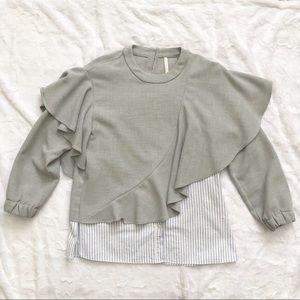 Zara Trafaluc Collection Top Size X-Small